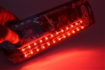 "2 x 8"" Super Red UltraBrights LED Strips"