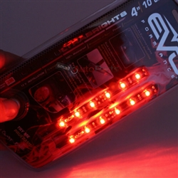 "2 x 4"" Red UltraBrights LED Strips"