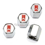 Oldsmobile Logo Chrome ABS Tire Valve Stem Caps