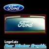 Big Ford Logo Vinyl Sticker Decal