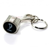Ford Mustang Cobra Snake Logo Piston Shape Key Chain