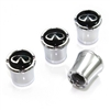 Infiniti Logo Chrome Tire Valve Stem Caps
