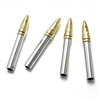 Chrome and Gold Bullet Car Door Lock Knobs