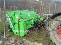 "COBRA 1600, 60"" BIOMASS MULCHER, PRUNING SHREDDER, FLAIL COLLECTION MOWER: SHRED & COLLECT ALMOND, CITRUS, ORCHARD, VINEYARD PRUNINGS"