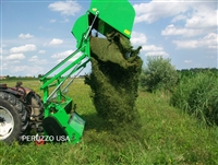 "PANTHER 1800 FLAIL COLLECTION MOWER: 72"" CUT, 64CU' CAPACITY, HI-LIFT DUMP!"