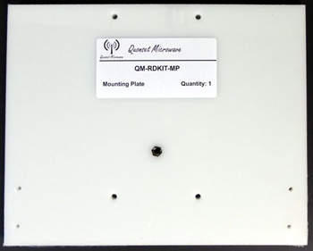 Mounting Plate for the Radar Demonstration Kit