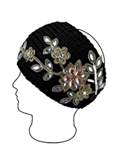 WHOLESALE DESIGNER INSPIRED HEADBAND 231151BK
