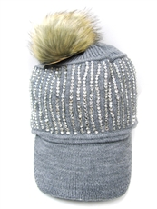 WHOLESALE DESIGNER INSPIRED HAT 231273GREY