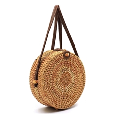 WHOLESALE DESIGNER INSPIRED PURSE HANDBAG 526-1 NATURAL