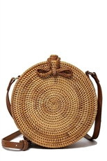 WHOLESALE DESIGNER INSPIRED PURSE HANDBAG 528-1 NATURAL