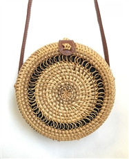 WHOLESALE DESIGNER INSPIRED PURSE HANDBAG 532 NATURAL