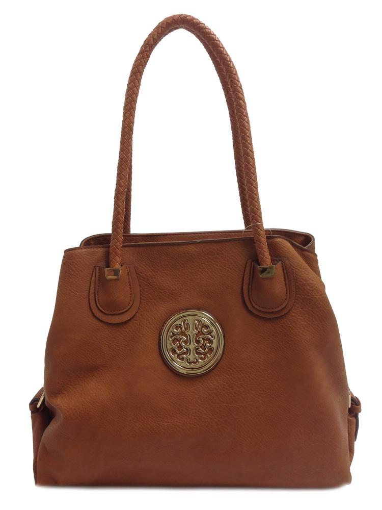 Wholesale Designer Inspired Purse Handbag 8213 Brown