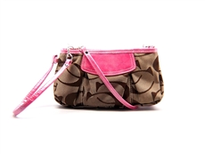 WHOLESALE DESIGNER INSPIRED CROSS BODY HANDBAG CL3313-KHAKI-PINK