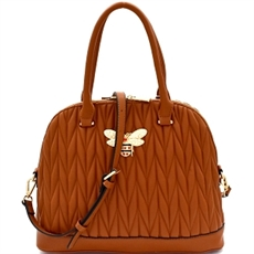 WHOLESALE DESIGNER INSPIRED PURSE HANDBAG DX0055 BR