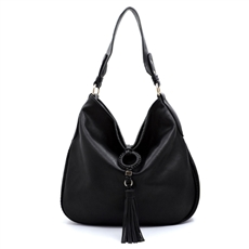 WHOLESALE DESIGNER INSPIRED PURSE HANDBAG FN0005BK