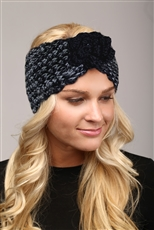 WHOLESALE FASHION HEADBAND LHB004 BLK