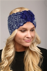 WHOLESALE FASHION HEADBAND LHB004 NAVY