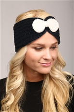 WHOLESALE FASHION HEADBAND LHB005 BLK