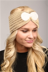 WHOLESALE FASHION HEADBAND LHB005 TAUPE