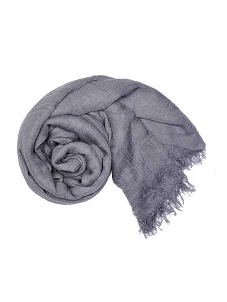 WHOLESALE FASHION SCARF LOF3111GRY