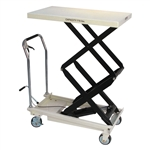 JET 140778, Double Scissor Lift Table 770-lb. DSLT-770
