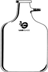 9500mL (2.5 gal.) Filter Bottle Carboy