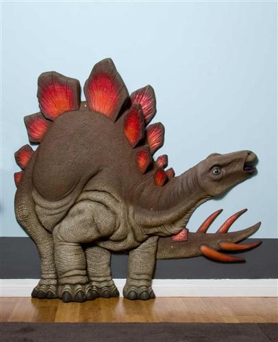 Classroom Wall Decor Items ~ Beetling stegosaurus dinosaur d wall art decor