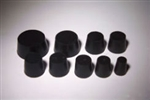 1 Hole Rubber Stopper Size 0