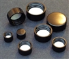Black Phenolic Screwcap for Vials 22-400 Pack of 200 Caps