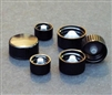 Black Polyseal Screwcap for Vials 24-400 Pack of 250 Caps