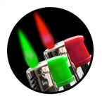 ColorFlame Lighters Pack of 2