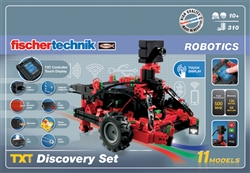 fischertechnik TXT Discovery Set and Accu Set Bundle