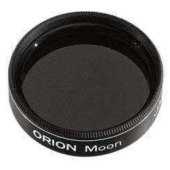 "Orion 1.25"" Telescope Eyepiece Moon Filter 13% Transmission"