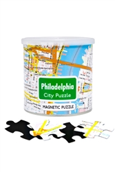Magnetic City Puzzle - Philadelphia 100pc