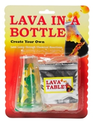 Lava in a Bottle