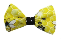 Bee hair bow