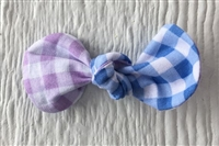 HAIR BOW - Gingham