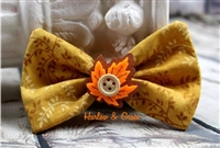 Fall leaves hair accessories