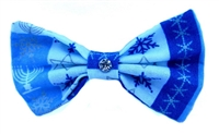 Hanukkah Hair Bow