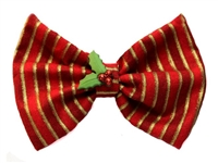 Holiday hair bows for dogs