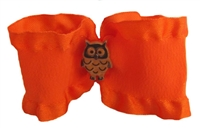 Owl dog hair bow