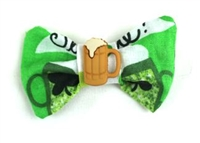 Hair Bow - Irish Luck