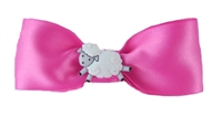 Meet Me In Montana - Hair Bow Pink