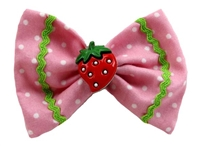 Strawberry Shortcake hair bow for dogs