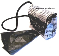 Potty Bag Carrier - Read All About It
