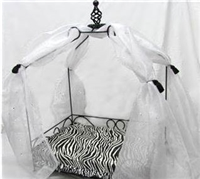 Canopy Bed -Zebra