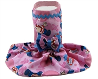 bubble gum dog dress