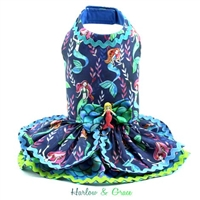mermaid dog dress