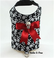 skulls dog clothes for halloween