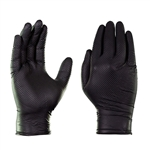 Gloveworks HD Black Nitrile, 100 gloves